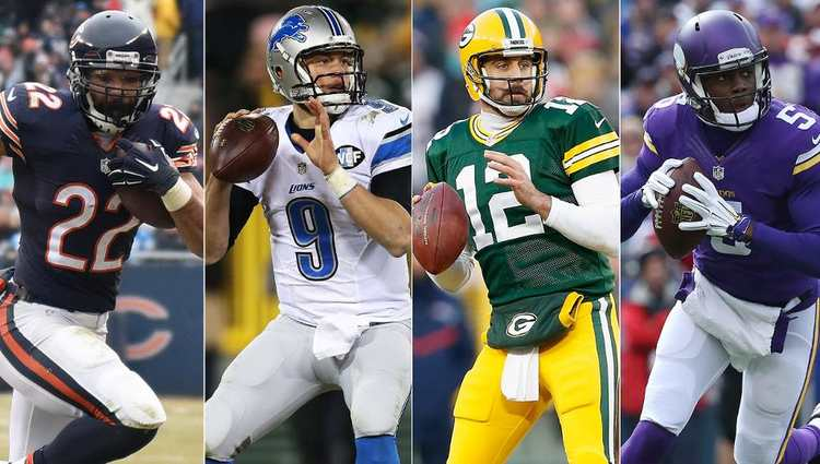 NFC North NFL odds