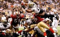 San Francisco 49ers and New Orleans Saints