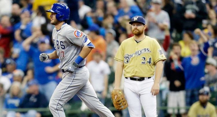 Chicago Cubs vs Milwaukee Brewers MLB Odds