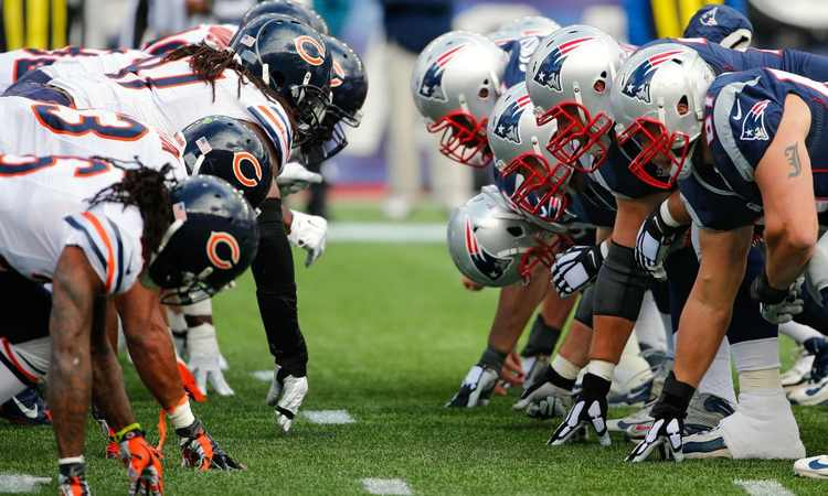 Bears vs. Patriots