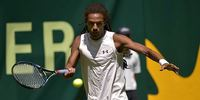 US Open Tennis Player Dustin Brown