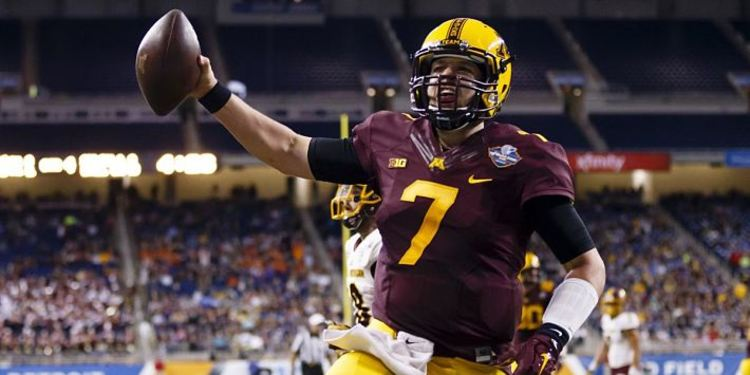Gophers' QB Mitch Leidner