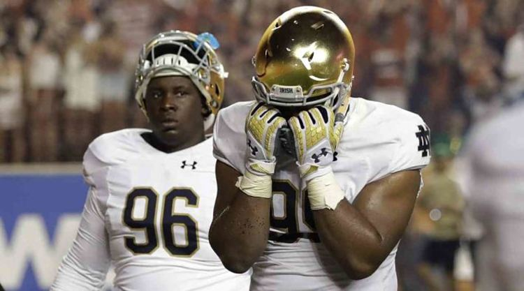 Notre Dame suffer from heartbreaking defeat