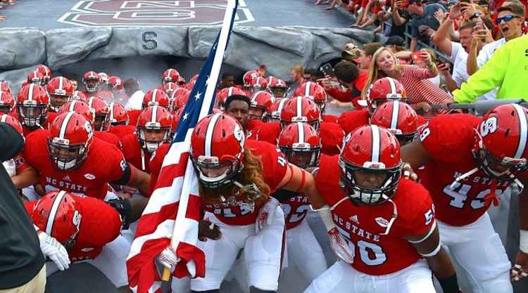 NC State Wolfpack Take The Field