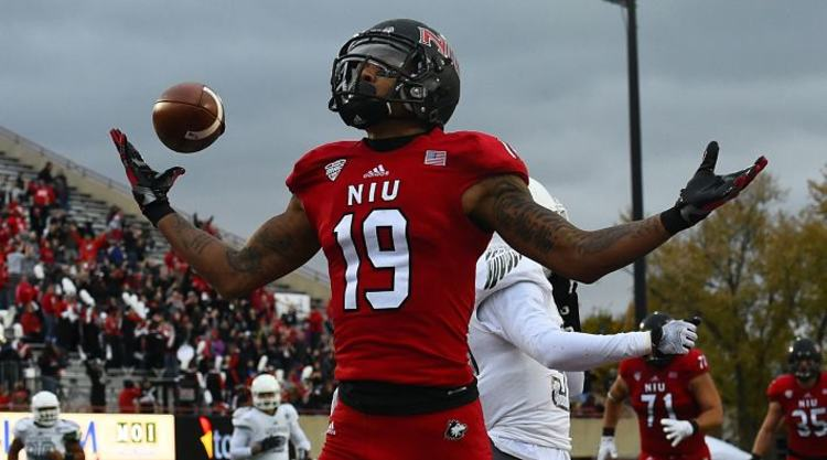 Northern Illinois Huskies Player Scores TD
