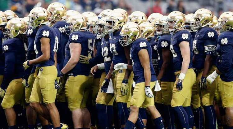 Notre Dame Fighting Irish Get Ready