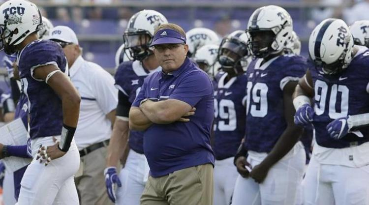 TCU Bullfrogs On The Sidelines