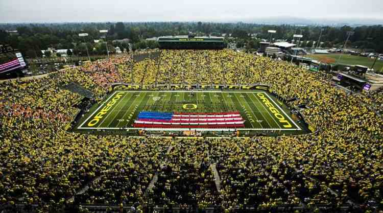 Oregon Ducks Stadium