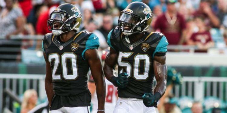 Jacksonville Jaguars cornerback Jalen Ramse
