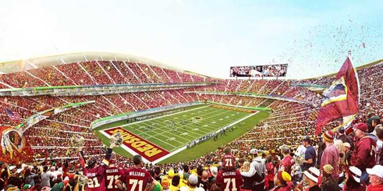 Washington Redskins  stadium