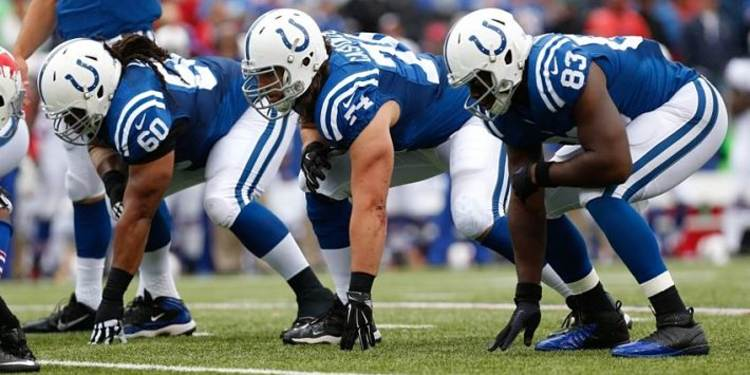Indianapolis Colts team in action