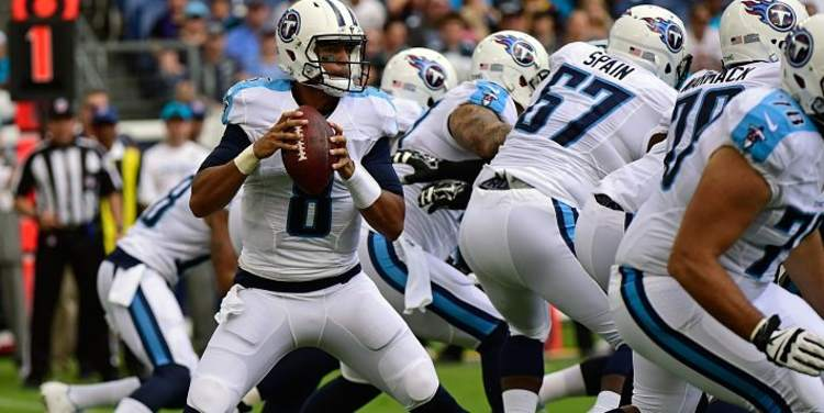 Tennessee Titans team in action