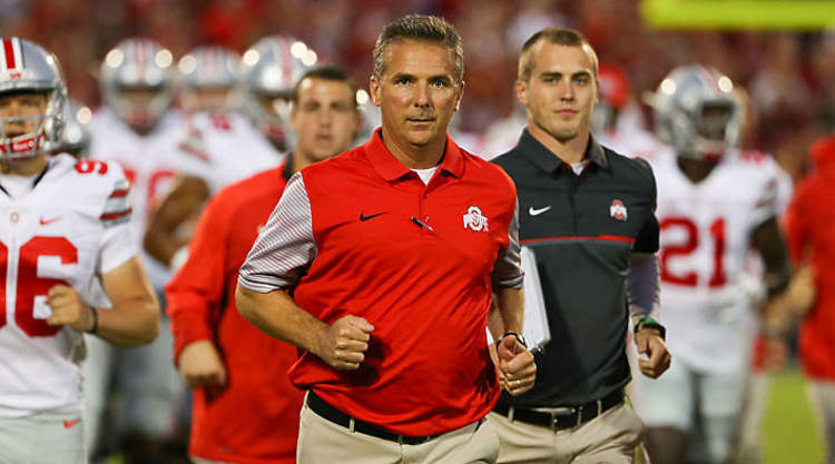 Urban Meyer Running
