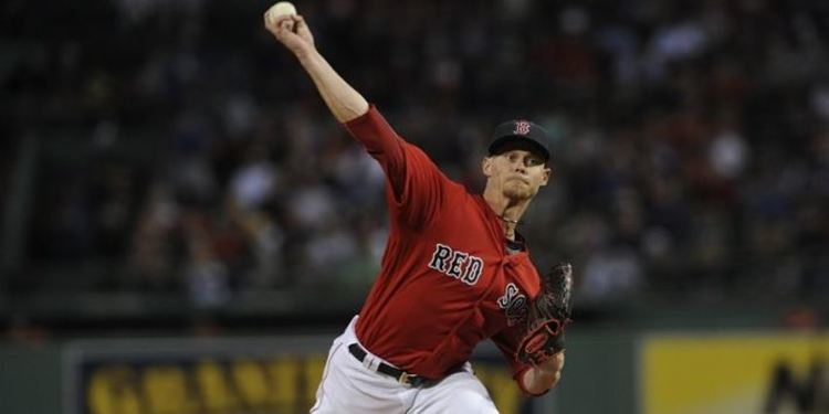 Boston Red Sox' Buchholz pitching