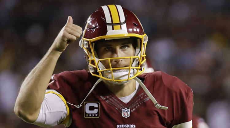 Kirk Cousins Gives Thumbs Up