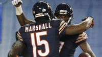Chicago Bears Players celebrate