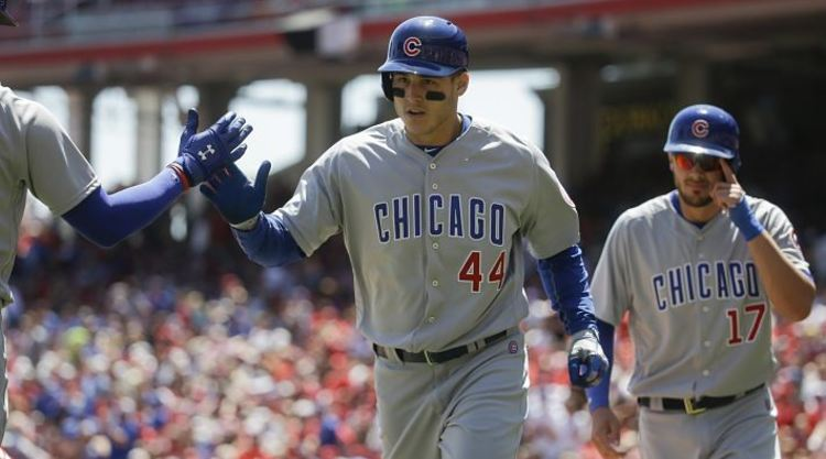 Anthony Rizzo Get Congratulated