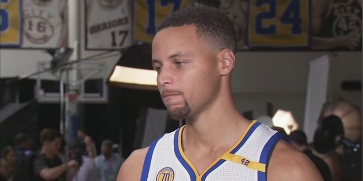 Stephen Curry Media Day Interview