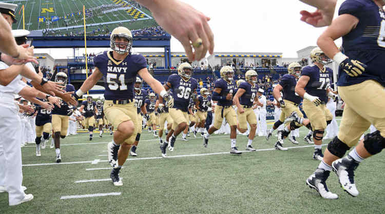 Navy Shipmen take the field