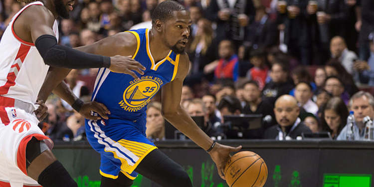 Kevin Durant's Golden State Preseason debut