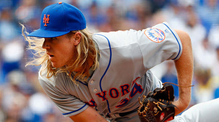 Noah Syndergaard itching