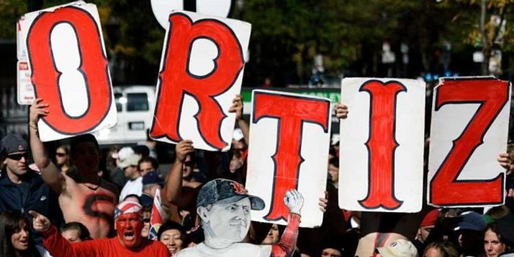 Fans supporting Ortiz's last season