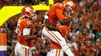 Clemson Tigers Players Celebrate
