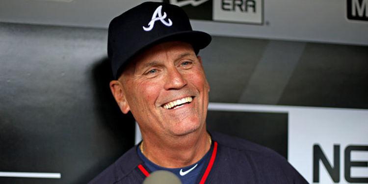 Braves manager Brian Snitker