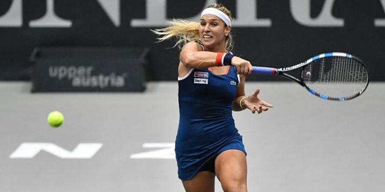 Dominika Cibulkova Playing