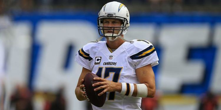 Chargers player Phillip Rivers
