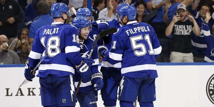 Tampa Bay Lightning team