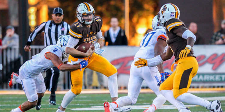 Boise State Broncos vs. Wyoming Cowboys game week 9
