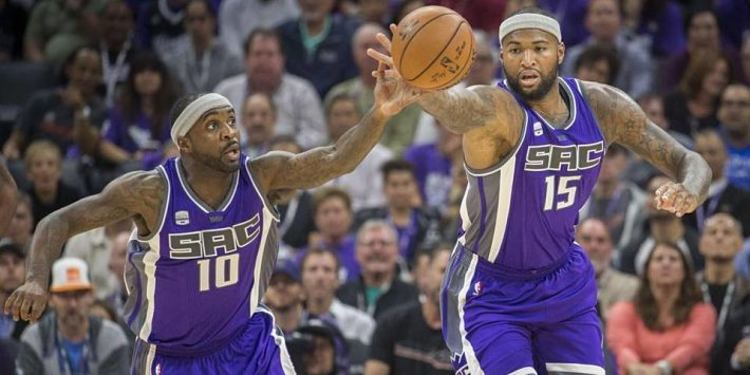 Sacramento Kings players in action