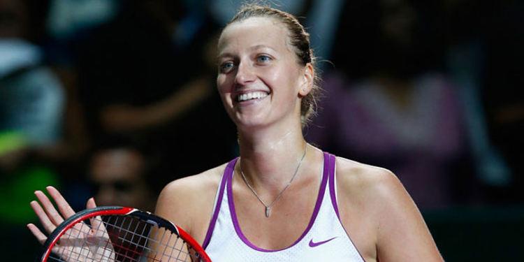 tennis player Petra Kvitova