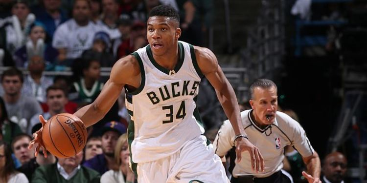 Milwaukee Bucks player Giannis