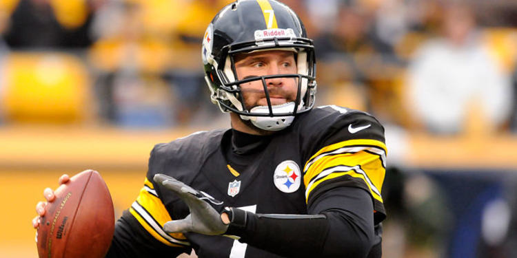 Ben Roethlisberger in action