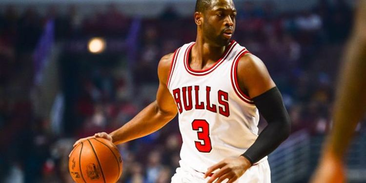 Bulls player Dwyane Wade