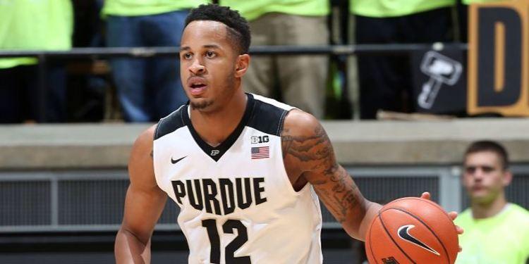 Purdue player Vincent Edwards