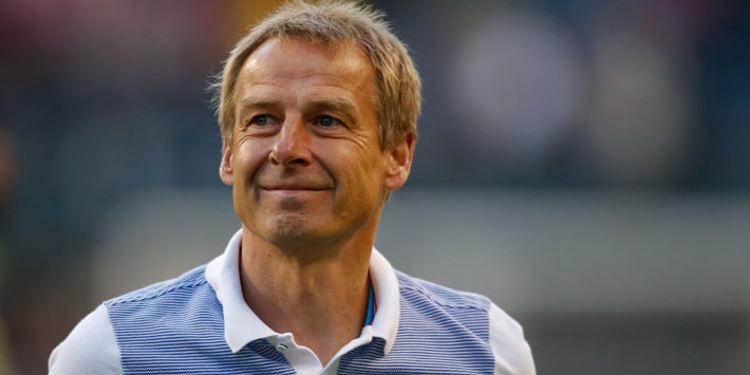 USA team coah Jurgen Klinsmann