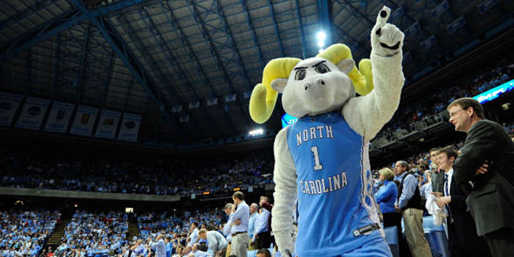 North Carolina Tarheels mascot
