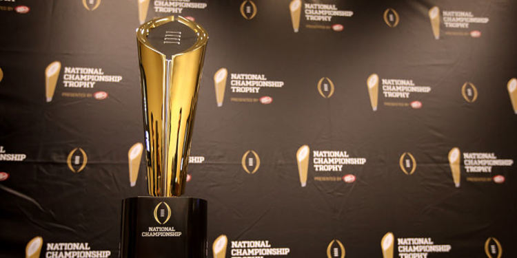 College Football National Championship Trophy 2017