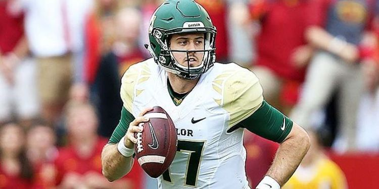 Baylor Bears player in action