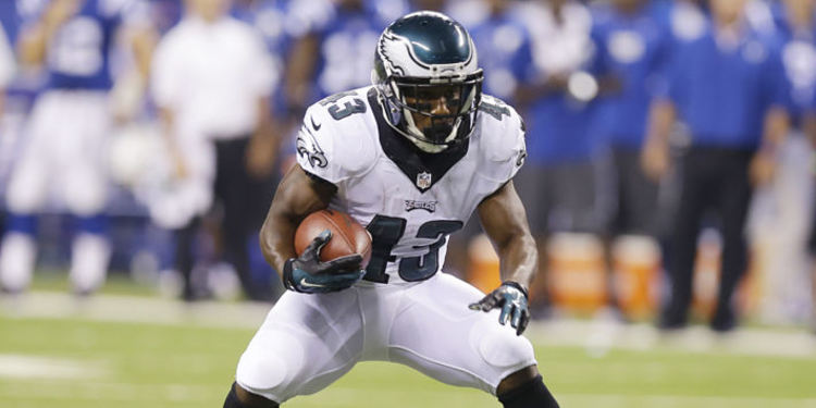 Darren Sproles Running with The Football
