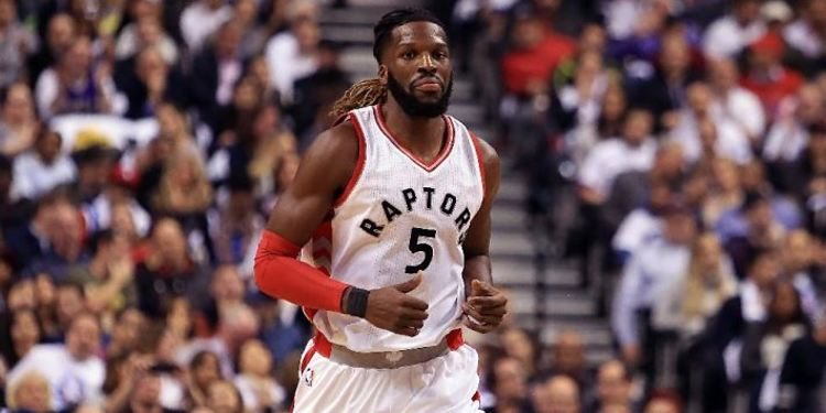 DeMarre Carroll during a game