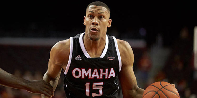 Nebraska-Omaha Mavericks player