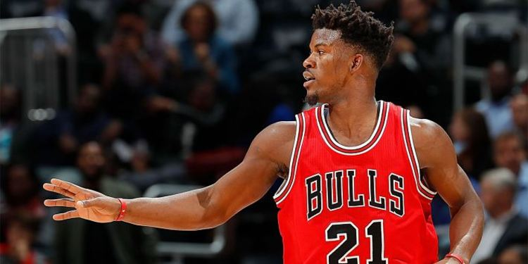 Jimmy Butler In Play