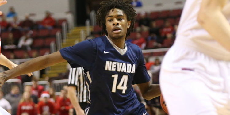 Nevada Wolf Pack player in action