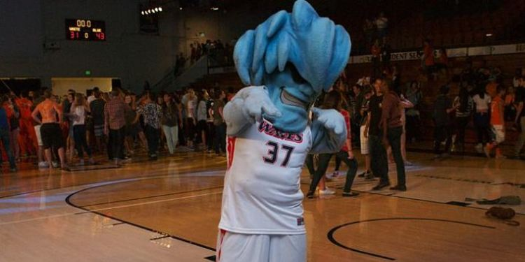 Pepperdine Waves mascot