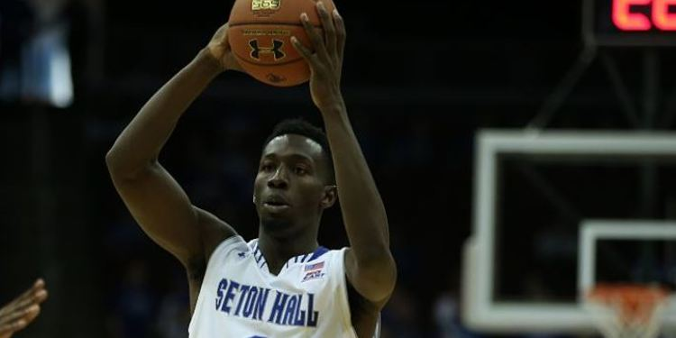 Seton Hall Pirates player in action