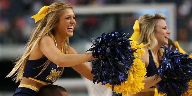 Wolverines Cheerleaders